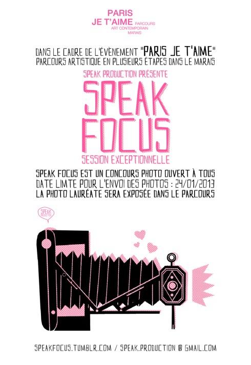 Appel à Projet Photographie : Speak Focuso1_1280