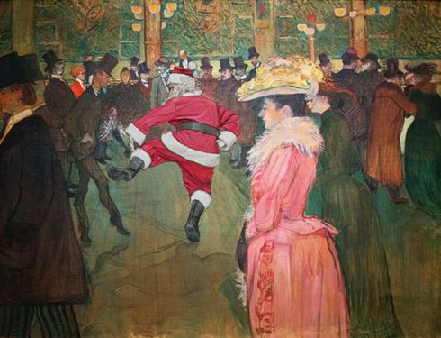 santa-claus-in-classical-painting-11