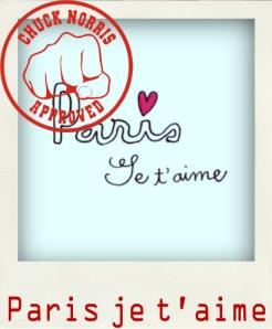 Paris je t'aime Pola Chuck Norris