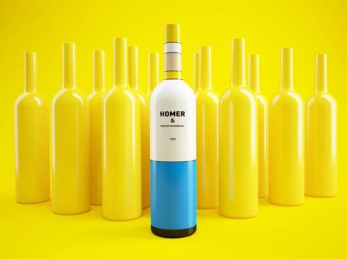 mondrian-simpsons-wine-bottles-1