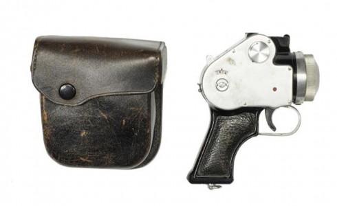 Mamiya pistol camera (Mamiya Camera Co. Japan)