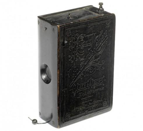 Taschenbuch book camera (Haake & Albers, Frankfurt, 1888)