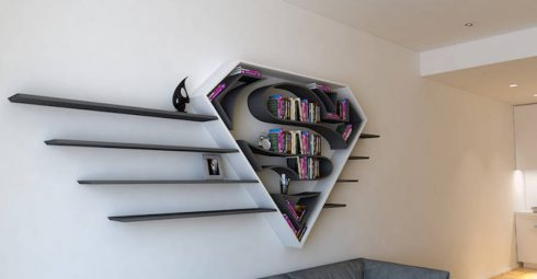 Funny-Bookshelves-with-Superheroes-Legos1-900x469